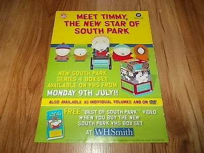 South Park series 4-2001 magazine advert