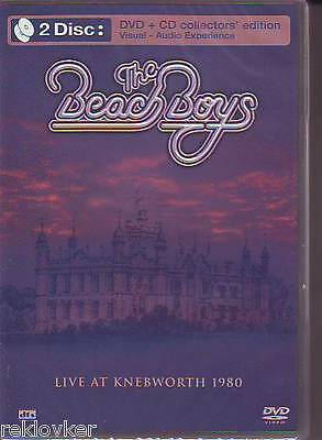 Beach Boys / Live At Knebworth 1980  - [Collector's Edition] (NEU!,CD & DVD,OVP)