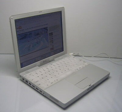 "*Vintage* Apple iBook G3 12"" M6497 Mac Notebook - Works!!!"