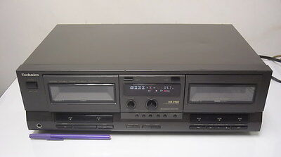 *NOSTALGIA* Technics DOUBLE DECK RS-TR232 with MP3 Adapter