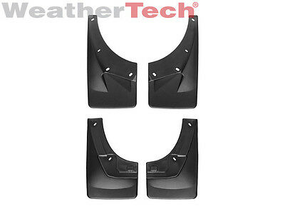 WeatherTech® No-Drill MudFlaps - Chevy Avalanche - 2007-2013 - Front/Rear Set