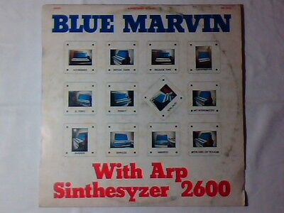 BLUE MARVIN With arp synthesyzer 2600 lp LIBRARY MOOG FUNK
