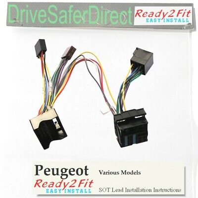 ISO-SOT-040-h Lead,cable,adaptor for Parrot CK3100 Peugeot
