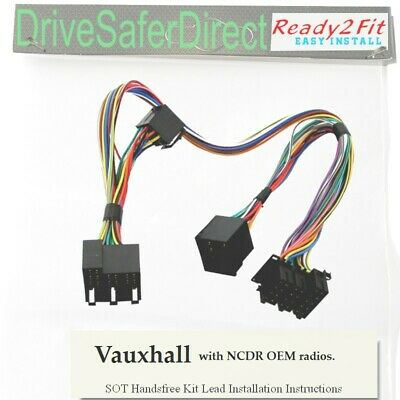 SOT-078-04 Lead,cable,adaptor for Parrot MKi9200/Vauxhall Opel NCDR Radios