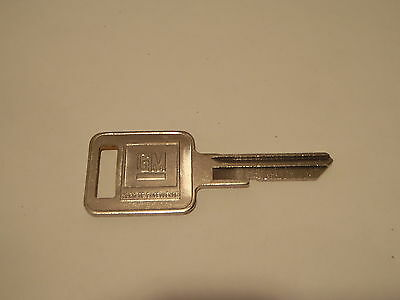 GM OEM 1154604 Ignition Key Blank Square Head Uncoded