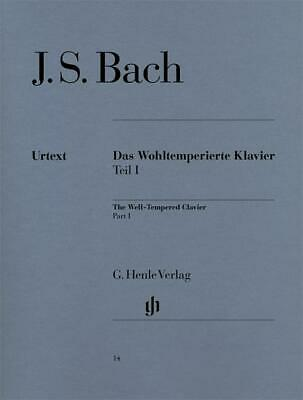 J.S. Bach The Well-Tempered Clavier Part 1 (Urtext)- Piano, HN14 - 9790201800141