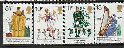 GB 1976 British cultural Traditions MNH mint set stamps