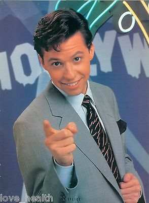 """JON CRYER - TEEN BOY ACTOR - 11""""x8"""" MAGAZINE POSTER CLIPPING PINUP"""