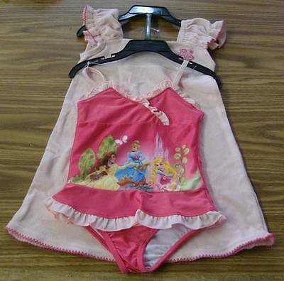 Disney Princesses Girls' 2pc Swim Set-PINK-CINDERELLA -SIZE 3T-NWT