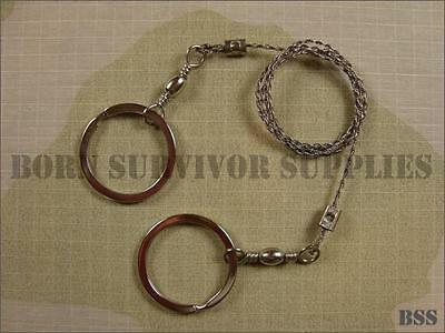 BCB Commando WIRE SAW with Rings - Survival,Bushcraft