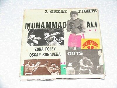MUHAMMAD ALI // 2 GREAT FIGHTS _ Columbia Pictures Home Movie SUPER 8mm