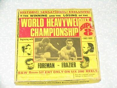 FLOYD PATTERSON Vs. GEORGE FOREMAN Reel. N°6 A Columbia Pictures SUPER 8mm