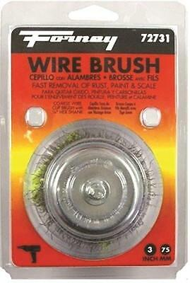 NEW FORNEY 70503 WELDING STAINLESS STEEL TINNING WIRE BRUSH  WOODEN HANDLE