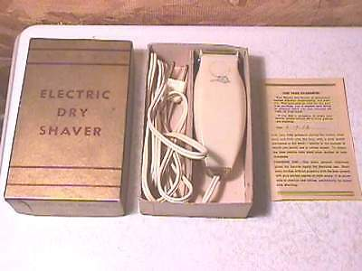 1952 Perfex Dry Electric Shaver- OB
