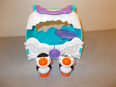 Fisher Price Penguin House with 2 penguins
