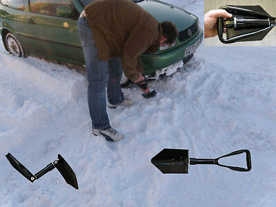 New High Quality Survival Winter Metal Double Folding Shovel / Spade ( Military