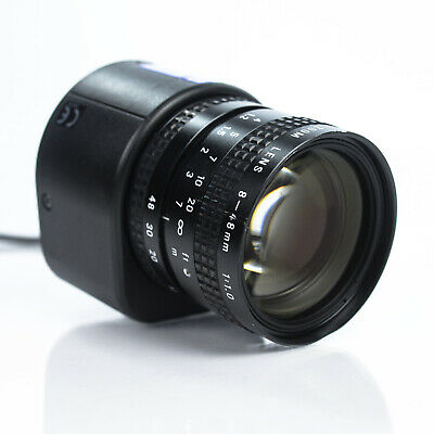 Pentax TV Zoom Lens 8-48mm 1:1.0 Auto-Iris TV Lens - C Mount