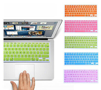 13 Colors Silicone Keyboard Cover Skin for ALL Macbook Pro 13 15