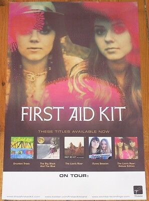 First Aid Kit POSTER The Lions Roar concert tour