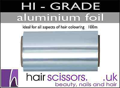 Foil For Colouring Hair Hi Grade Best Quality 100m Roll In A Box Salon FOIL