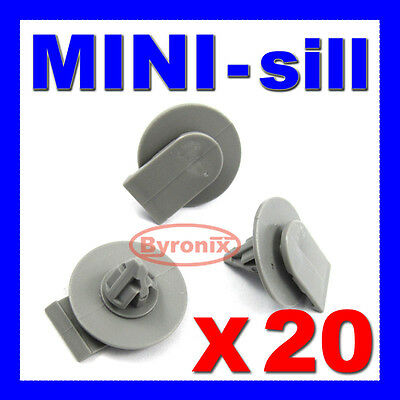 Bmw Mini Side Sill Skirt Trim Clips Fasteners One S Cooper R56 R53 X20
