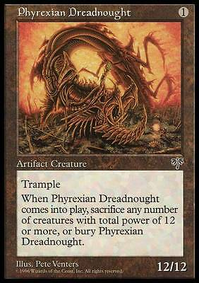 STERMINATORE DI PHYREXIA - PHYREXIAN DREADNOUGHT Magic MIR Mint