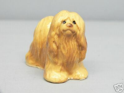 Retired Hagen Renaker Lhasa Apso Facing Right