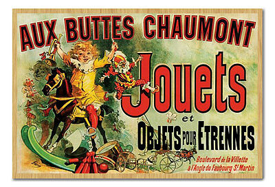 Aux Buttes Chaumont Jouets As Seen On Friends Magnetic Notice Board Incl Magnets