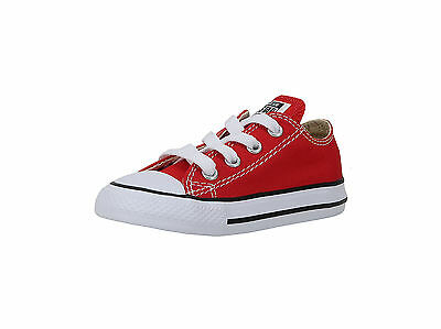 851dee6846152b Converse Shoes Chucks Infants Babies Toddlers Red Canvas Boys Girls Shoes