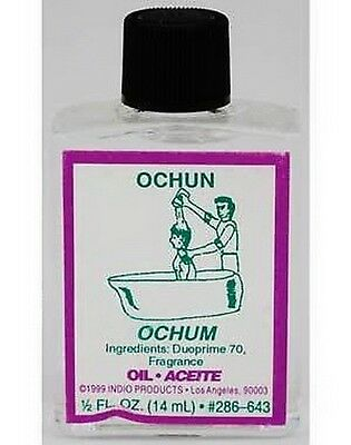 OCHUN OIL 14mls Wicca Pagan Witch Spell Voodoo Goth Punk Occult Herb LOVE Reiki