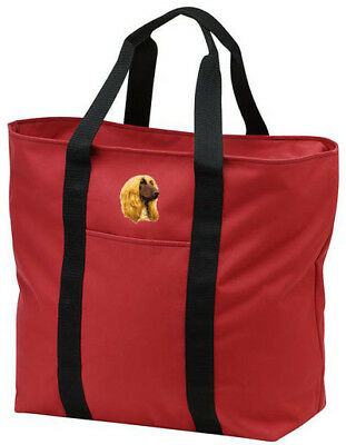 AFGHAN HOUND embroidered tote bag ANY COLOR