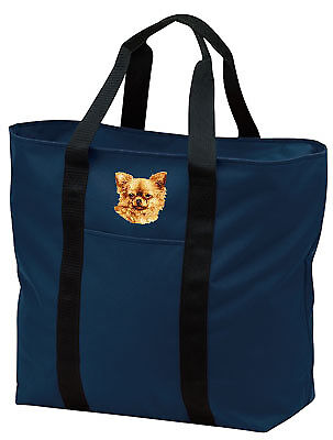 CHIHUAHUA embroidered tote bag ANY COLOR
