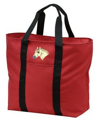 FJORD horse embroidered tote bag ANY COLOR