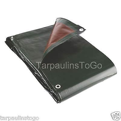 Heavy Duty Tarpaulin 250GSM Waterproof Cover Camping Groundsheet Tarp