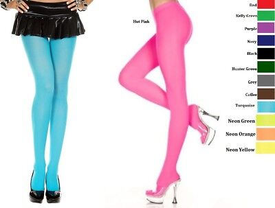 Plus Size Lingerie Hosiery Pantyhose Designer Colors Opaque Tights Q/S Stockings