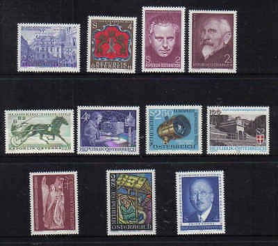 STAMPS   from  AUSTRIA    YEAR 1973  part 2  (MNH)  lot 898a