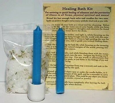 BATH KIT: HEALING - Wicca Witch Pagan Punk Goth Goddess Spell Attract