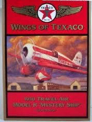 Wings of Texaco 1930 Travel Air Model R Mystery Ship, 5th in Series,  new MIB