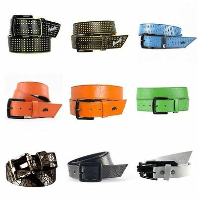 Armourdillo Belt Riddle Crackle SIZE S M L XL SLIM FREE POST NEW Skate Band Punk