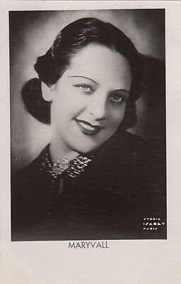 Carte Postale Photo Personnalite  Maryvall