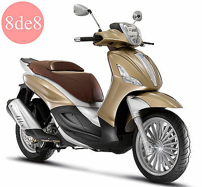 Piaggio Beverly 300 ie (2008) - Workshop Manual on CD