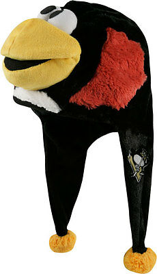 Pittsburgh Penguins Team Logo - Mascot Dangle Hat - NEW NHL soft plush ICEBURGH