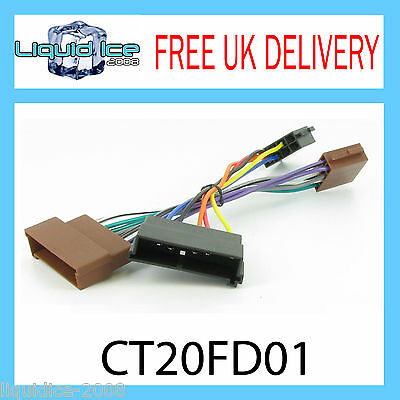 PC2-08-4 FORD FIESTA MK4 1995 to 2002 ISO STEREO HARNESS ADAPTOR WIRING LEAD