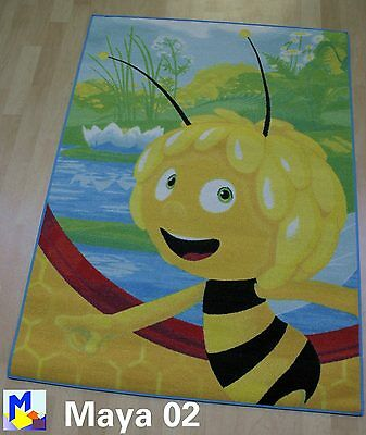 Kinder Teppich BIENE MAJA / MAYA BEE *Ma02 Close up* 95x133 Spielteppich NEU