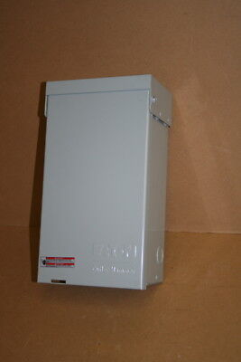 Power outlet panel Rainproof outdoor RV 30A Eaton Unused