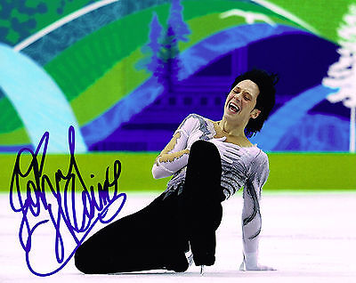 USA OLYMPIC FIGURE SKATER JOHNNY WEIR Signed Photo with COA