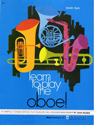 Learn To Play The Oboe Tutor Method Book 2