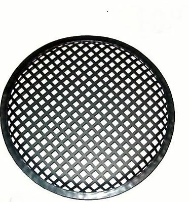 8 Inch Subwoofer Speaker Covers Waffle Mesh Grill Grille Protect Guard