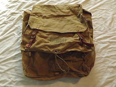 Vintage Official Bsa Boy Scouts Of America Back Yucca Pack
