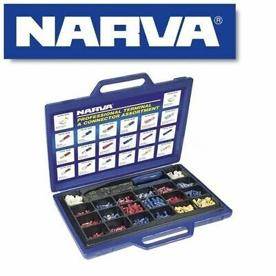 Narva 56530 Professional Electrical Cable Wire Crimper & Terminal Connector Kit